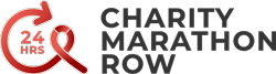 24 HRS CHARITY MARATHON ROW Logo